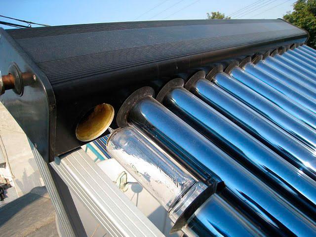 Солнечный коллектор своими руками из пнд