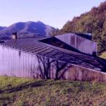 Дом с геотермальным отоплением на склоне горы