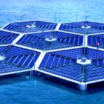 Плавающие солнечные панели