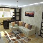 Перепланировка гостиной: за и против