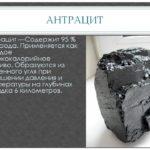 Где используется уголь антрацит