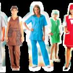 Виды одежды для сотрудников магазинов, общепита, сферы услуг