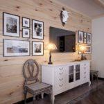 Деревянная вагонка в интерьере дома
